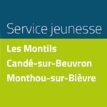 Service jeunesse Les Montils, Candé-sur-Beuvron, Monthou-sur-Bièvre